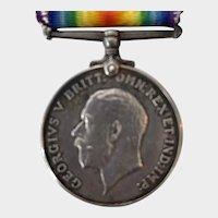 George V Silver Medal for Cameron Highlander