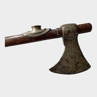 Opium pipe / battle axe combination..