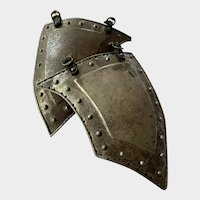 Tassets from a suit of armor c 1800s