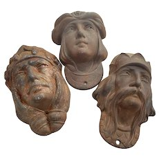 Iron Decorative Masks from Carousel