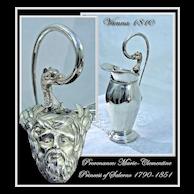 Antique Austrian Silver Ewer Royal Provenance Vienna 1810