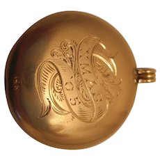 Heavy 14K Antique Locket
