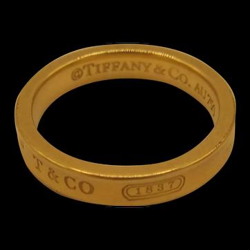 """Tiffany 18K """"1837"""" Band"""