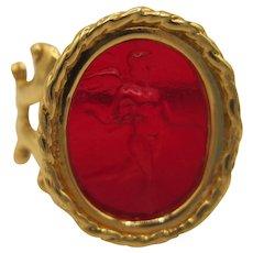 14K Tagliamonte Cherub Ring
