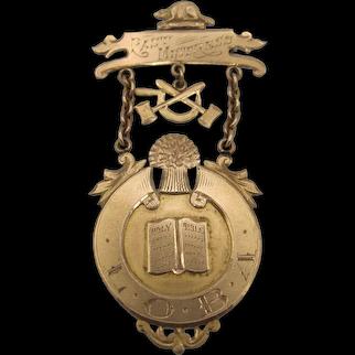 Birks 10K Hiawatha Lodge Medal