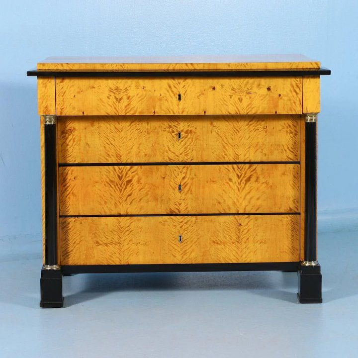 Antique Swedish Biedermeier Chest of Drawers, circa 1830 - Antique Swedish Biedermeier Chest Of Drawers, Circa 1830