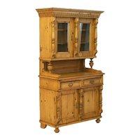 Antique 19th Century Romanian Pine Cupboard, Circa 1870