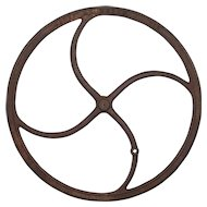 Antique Industrial Cast Iron WheelReturn to Accessories