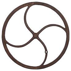 Antique Industrial Cast Iron WheelReturn to Accessories