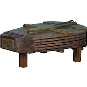 Large Antique Blacksmith's Bellows Coffee Table