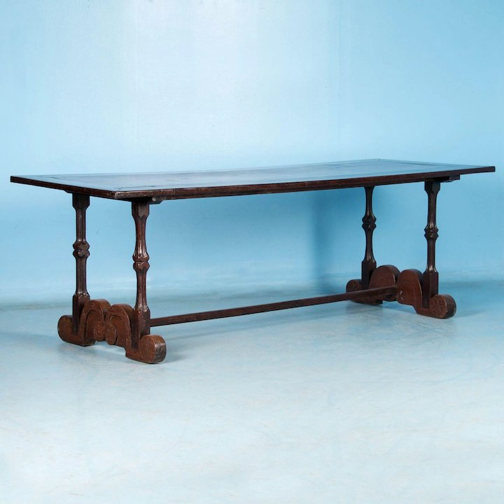 Antique Spanish Colonial Dining Table From The Philippines