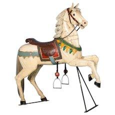 Antique 19th Century Painted Carousel Horse