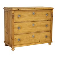 Large Pine Chest of Drawers Blanket Chest