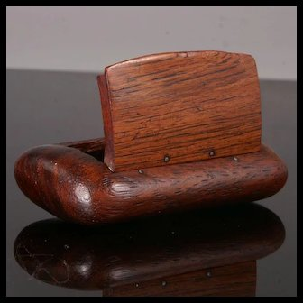 Antique Rosewood Snuff Box