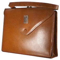 Antique Ladies Leather Clad Writing Case