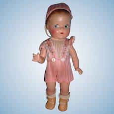 Composition Vogue Ginny Toddles Boy Doll - All Original