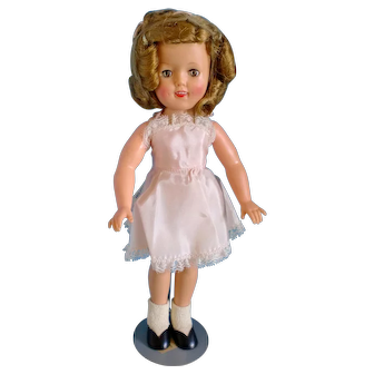 "12"" Vinyl Shirley Temple Doll - 1957-58  Mint"