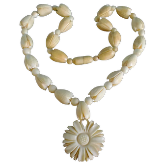 Jewelry Vintage Hawaiian Pikake Necklace