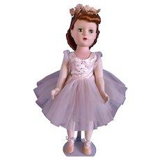 Vintage 1950's Madame Alexander Margot Ballerina Doll