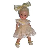 Beautiful 1952 Strung Ginny Poodle Cut Doll