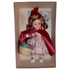 Vogue Ginny Doll 1952 Red Riding Hood MIB