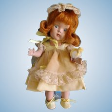 Vintage Painted Eye Ginny Easter Doll