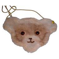 Steiff Teddy Bear Purse - Vintage