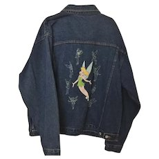 Vintage Disney Tinkerbell Ladies Jacket