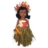 Vintage Hawaiian HP Doll