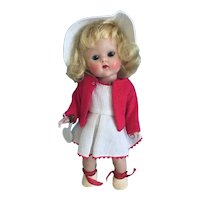 1952 Strung Ginny Tennis Doll All Original