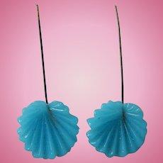 Antique Jumeau doll earrings