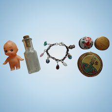 Nice vintage doll accessories lot