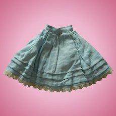 Antique French fashion skirt/slip