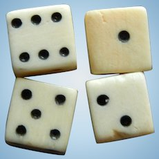 French fashion bone dice