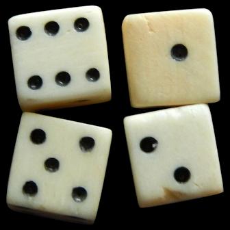 French fashion bone dice