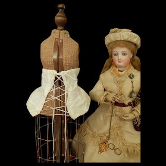 French fashion bustle pad corset