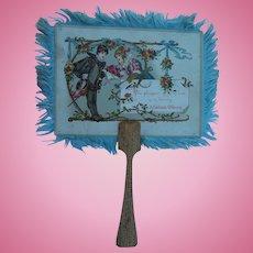 Lovely antique fan for doll