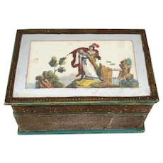 18th century French box for doll
