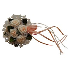 Vintage bouquet for doll