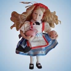Vintage Alice in Wonderland doll