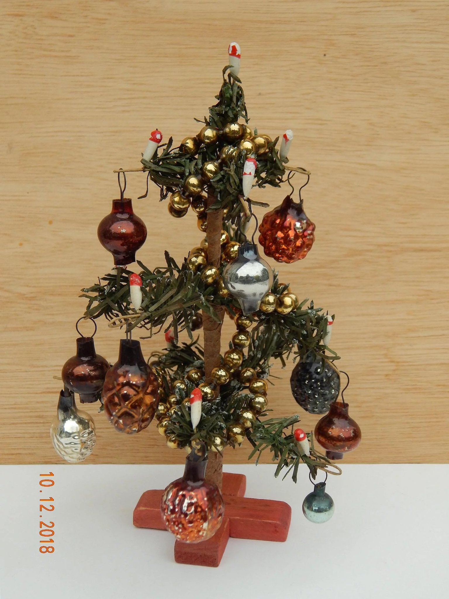 Antique Dollhouse Christmas Tree Kim S Doll Gems Ruby Lane