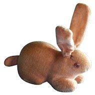 Cute old pink velveteen rabbit