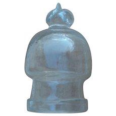Rare small Regency French dome cloche