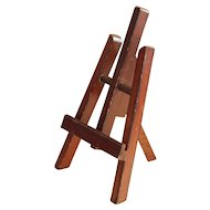 Nice old miniature wooden easel