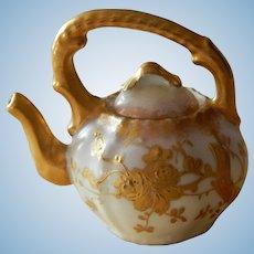 Antique Limoges mini tea pot