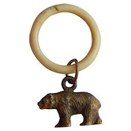 Great old bear charm for doll