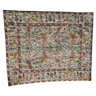 Beautiful wool petitpoint dollhouse rug