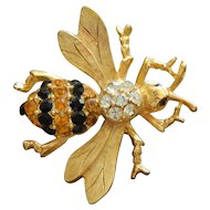 Vintage bee pin for doll