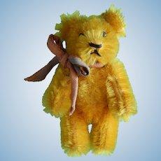 Antique Schuco tiny gold bear