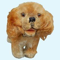 """Cute vintage Steiff mohair dog-5"""""""